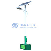Electric supply and solar hybrid type solar street light